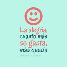♫ {{{(^_^)}}} ♪  La #Alegria cuanto más se gasta más queda… 🎉 🎉    #Disfruta #LaMusa