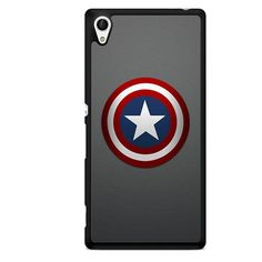 Captain America Shield TATUM-2360 Sony Phonecase Cover For Xperia Z1, Xperia Z2, Xperia Z3, Xperia Z4, Xperia Z5
