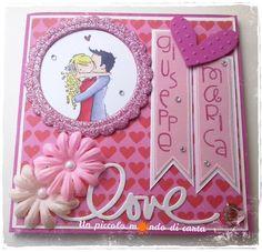 #scrapbooking #weddingcard #unpiccolomondodicarta #stampingbella