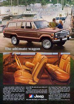 Jeep Wagoneer Limited Ad (1980)