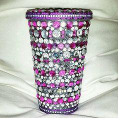 Pink rhinestone tumbler https://www.etsy.com/listing/205583711/custom-bedazzled-rhinestone-tumbler-cups