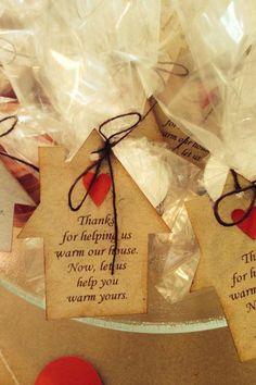 Housewarming gift tags Favor tags house by JillyBearDesigns