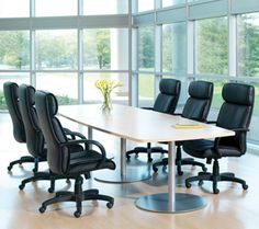 Turnstone Conference Table w/ Conference Chairs