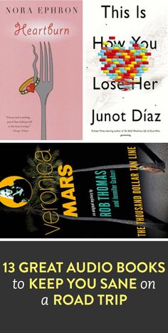 13 great audiobooks to keep you sane on a road trip
