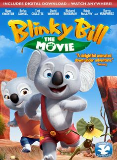 I received the product below in exchange for sharing my honest opinion. Blinky Bill: The Movie Released: October 11, 2016 Running Time: 82 minutes Blinky Bill (voiced by Ryan Kwanten) is a little koala with a big imagination.
