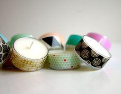 Washi Tape & Tea Lights