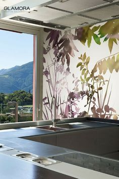 Ghost garden | Graphic Wallcovering & Carta da Parati | Essence collection by Glamora