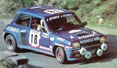Saby Tilber Renault 5 Turbo Tour de France