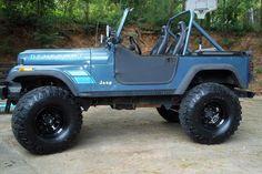 Jeep CJ7 Renegade... One of my favorite models