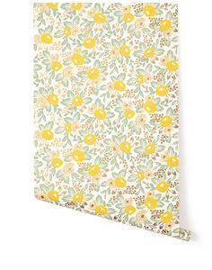 Hygge & West - RIFLE PAPER CO. Rosa Yellow (RPC-004 ) | 輸入壁紙専門店 WALPA