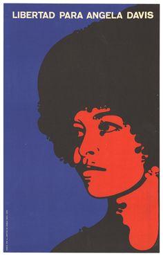 Angela Yvonne Davis: Free Angela Davis - F. Beltran - 1971