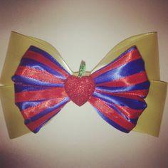 Snow White Ribbon Headband by 500daysofdisney on Etsy, $10.25