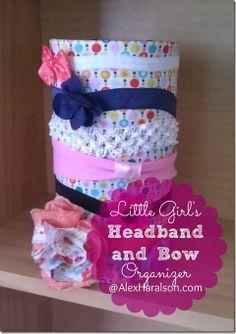 Little Girl's Headband and Bow Organizer