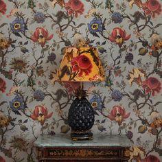 ARTEMIS Wallpaper Dove Grey http://www.houseofhackney.com/artemis-wallpaper-dove-grey.html