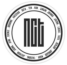 High quality KPOP gifts and merchandise. Inspired designs on t-shirts, posters, stickers, home decor, and more by independent artists and designers from around the world. Pop Stickers, Tumblr Stickers, Printable Stickers, Nct Winwin, Nct Johnny, Nct Yuta, Nct Taeyong, Logo Sticker, Sticker Design