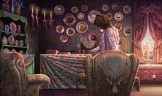 Admit it ! You wanted to use Lockhart's Transmogrifian Curse on her.  [Image from Pottermore.com's find a hidden objects game.]
