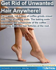 Hair - Get Rid of Unwanted Hair Anywhere!
