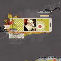 Autumn Leaves Everywhere - Digital Scrapbooking Ideas - DesignerDigitals
