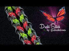 DRAKI STITCH Hook Only bracelet tutorial - YouTube