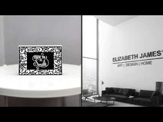 Art Greetings Cards by Elizabeth James - YouTube Luxury Cushions, Elizabeth And James, Unique Art, Greeting Cards, Youtube, Design, Home Decor, Homemade Home Decor, Quirky Art
