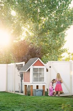 chicken coop from Natalie Wright