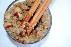 Change up your typical oatmeal with this fiber and protein packed recipe: Apple Cinnamon Breakfast Quinoa