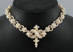 A Victorian seed pearl necklace,… - Fine Jewellery - Leonard Joel Pty. Ltd. - Antiques Reporter