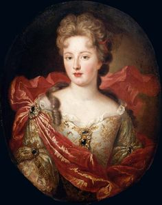Marie Angélique de Scorailles (1661 – 28 June 1681) was a French noblewoman and one of the many mistresses of Louis XIV. A lady-in-waiting to his sister-in-law Elizabeth Charlotte, Princess Palatine, the Duchess of Orléans, she caught the attention of the Sun King and became his lover in 1679. She died most probably as a result of complications arising from childbirth though the court of Louis was sure that Angelique was poisoned by Montespan.