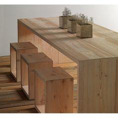 mesa comedor madera Carthago