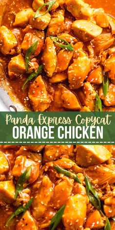 Sticky, sweet, and delicious, this recipe for Easy Orange Chicken Bites is exactly like Panda Express! Bite-sized chunks of white meat chicken are lightly sauteed and coated in a sticky Asian-inspired orange sauce with sesame oil, ginger, and garlic.