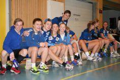 Stemningsbilder fra Ulsrudcup i Håndball. Idrettselevene fra Lambertseter Vgs fikk med seg det gjeveste trofeet hjem.