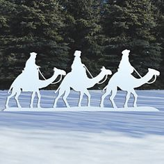 Sherwood Creations THREE KINGS ON CAMELS NATIVITY ACCENTS