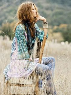 Hippie Fashion - California Style - Marie Claire