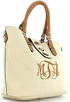 NEED THIS!!   tinytulip.com - Monogrammed Buckle Shoulder Bag, $52.50 (http://www.tinytulip.com/monogrammed-buckle-shoulder-bag)