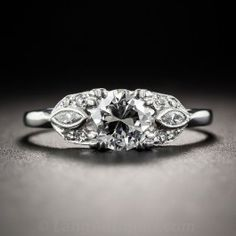 .65 Carat Diamond Vintage Engagement Ring - What's New