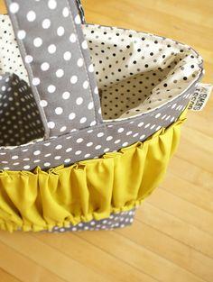 basket covers <3  Cute...