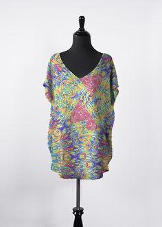 Colorsplash Plus Size Essential Top Women's Summer Fashion