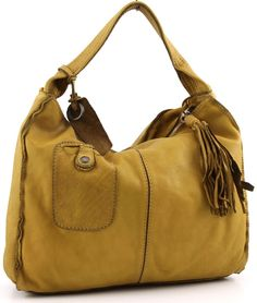 f3a3278fd173 Caterina Lucchi Hobo Leather yellow 36 cm - L3161VT-1208