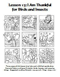Lesson 13 Coloring Page