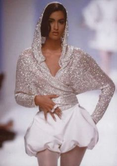 Claude Montana 90's design by HighFashionJunkie, via Flickr