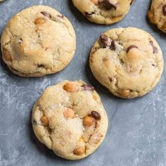 Basic chocolate chip cookies with the addition of caramel bits and a sprinkle of sea salt are certain to make you swoon.