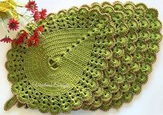 Crochet Squares, Crochet Doilies, Crochet Flowers, Crochet Kitchen, Hand Embroidery, Coasters, Diy And Crafts, Crochet Patterns, Knitting