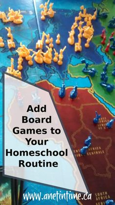 Add Board Games to Your Homeschool Routine - A Net in Time.   Gameschooling, it's a good way to learn important skills.