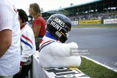 James Hunt's helmet, Great Britain, Brands Hatch, 20 July 1974.