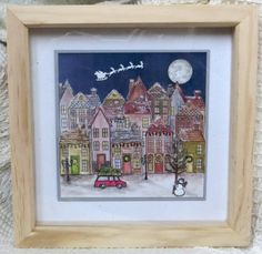 Holiday Home frame - what a FABULOUS use of the Holiday Home Bundle! http://stmp.in/HolidayHome
