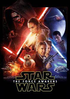 Star Wars The Force Awakens now on Netflix Canada. #streamteam