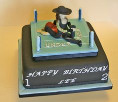 1000 Ideas About Wrestling Birthday Cakes On Pinterest