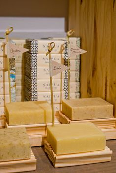 Saipua olive oil based soaps are aromatic charmers that will make your bathroom smell fresh just sitting there, and when you wash the fragrance stays on your skin in the perfect 'come in close' way.