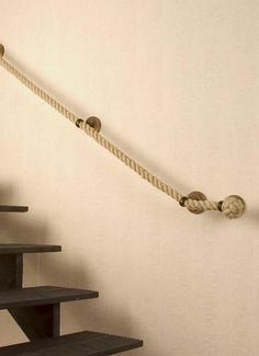 Rope Handrail Inspiration | THE CAVENDER DIARY