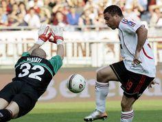 Ronaldo provou ser um dominador, rápido e com grande olho para o jogador de gol.